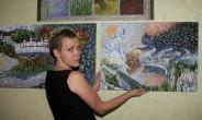 Елена Жарская: цифры и холст