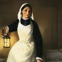Флоренс Найтингейл: леди со светильником
