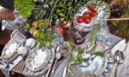 Обед на даче: легкость и красота
